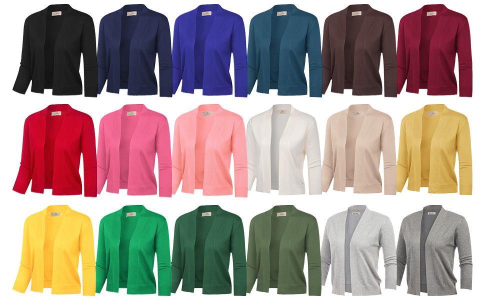 womens knit cardigans open front sweaters