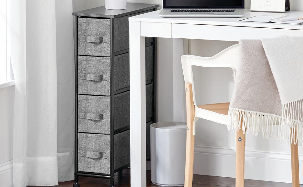 2 two drawer organizer organization storage stores nightstand dresser office kitchen playroom diaper