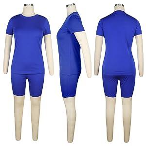 blue 2 piece