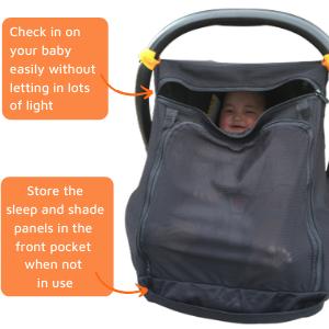 baby car sun shade, baby capsule car seat shade, car window shade for baby