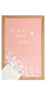 pink letter boards main event girl baby shower nursery decor pink