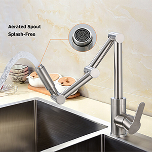 Spout with Aerator