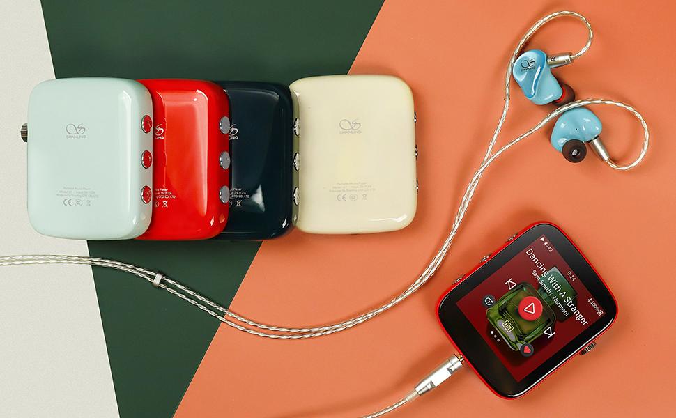 Shanling Q1 Portable Hi-Fi Audio Player Music Player MP3 player