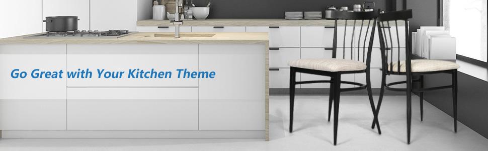 kitchen them chair