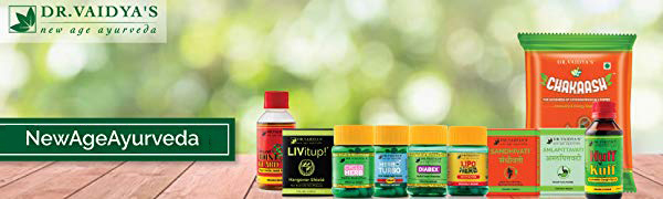 Dr Vaidya's new age ayurveda natural products made from pure ingredients