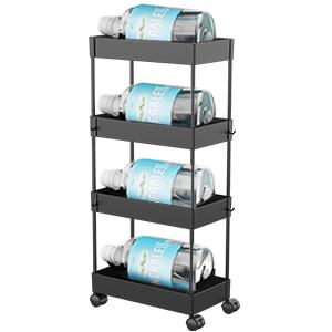slide out storage cart