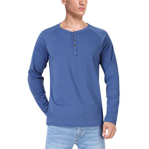 Henley t shirts long sleeve