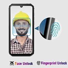 Fingerprint and Face Unlock