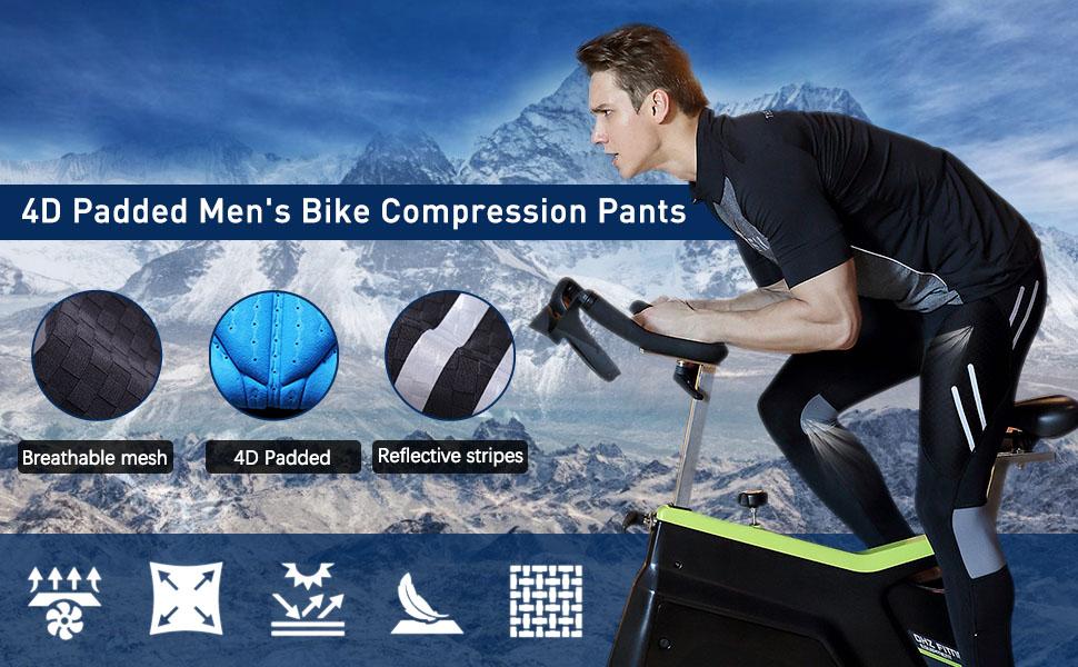 LEGENDFIT Men's Long Cycling Pants