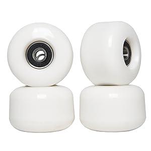 skateboard wheels 54mm white