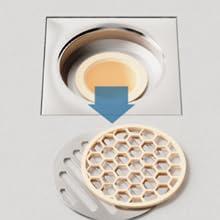 basement bathroom shower stainless steel Anti-blocking Cut hair floor drain cover 09
