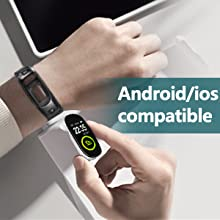 Compatible with iOS (10.0 above) and Android (5.0 above) smartphones.