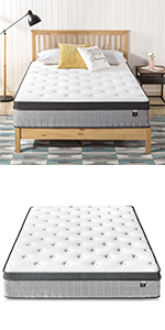 Zinus Support Plus POcket Spring Mattress