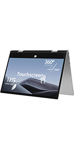 Jumper  X1 11.6 inch Touchscreen Laptop 6GB RAM, 128GB eMMC 360 Degree Tablet PC