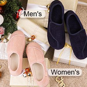 longbay men's adjustable slipper