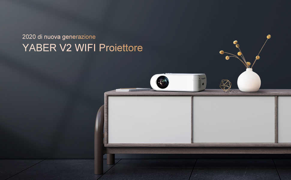 yaber-proiettore-wifi-5800-lumens-mini-videoproie