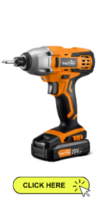 Cordless Impact Driver for DIYers, woodworking,Lightweight electrice impact driver kit w/ driver bit