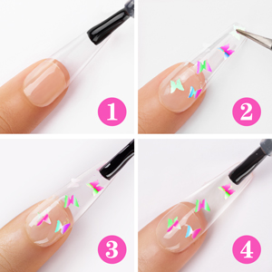 Butterfly Flakes Glitter Guide