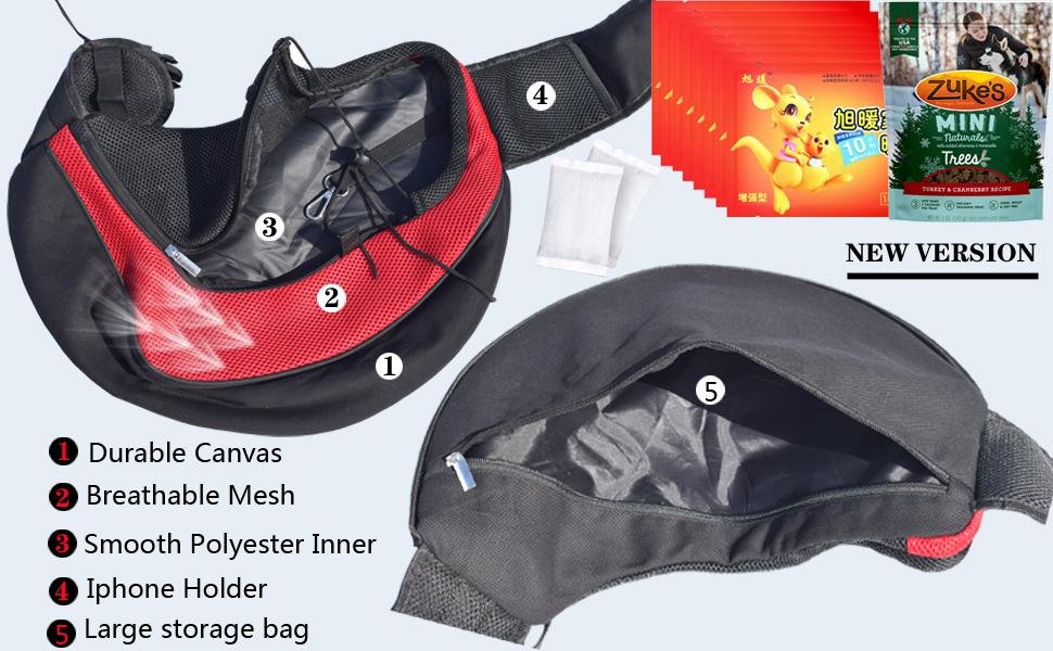 upgrade cat sling carrier bag