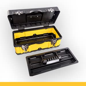 stackable tool box cantilever