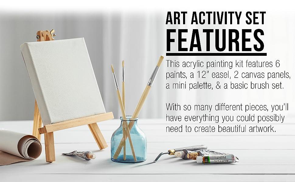 Mini Table Easel Acrylic 13 Piece Kit