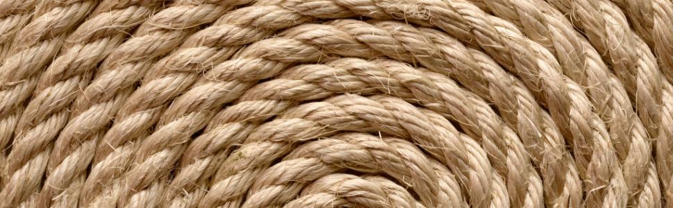 Dik koord voor fotolijst voor hangmat, scheepstouw 30 mm leuning touw touw scheepstouw