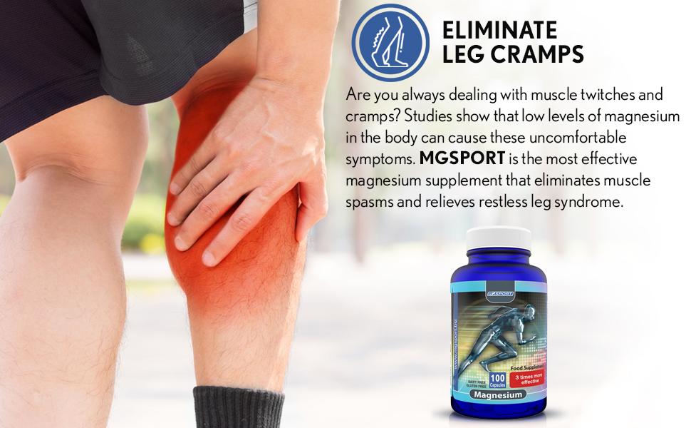 magneisum leg cramps