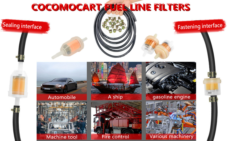 motorcycle fuel line filter