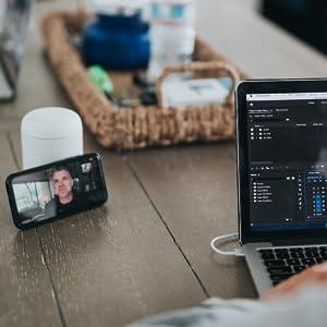 Headset für Videokonferenzen über Teams Skype Zoom Webex