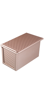 Loaf pan with lid bread pans with cover