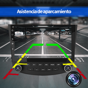 pantalla 2 din Honda Accord Android  reproductor 2 din Honda Accord Android Navegador