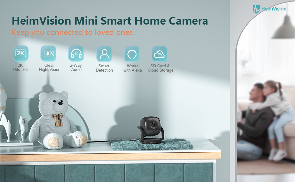 HeimVision Mate A1 Security Camera for Home Security