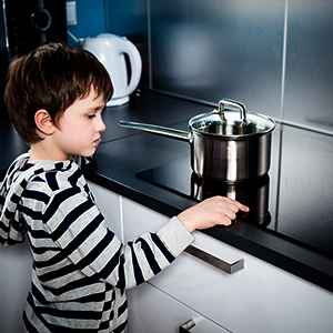 cooktop child lock safety feature