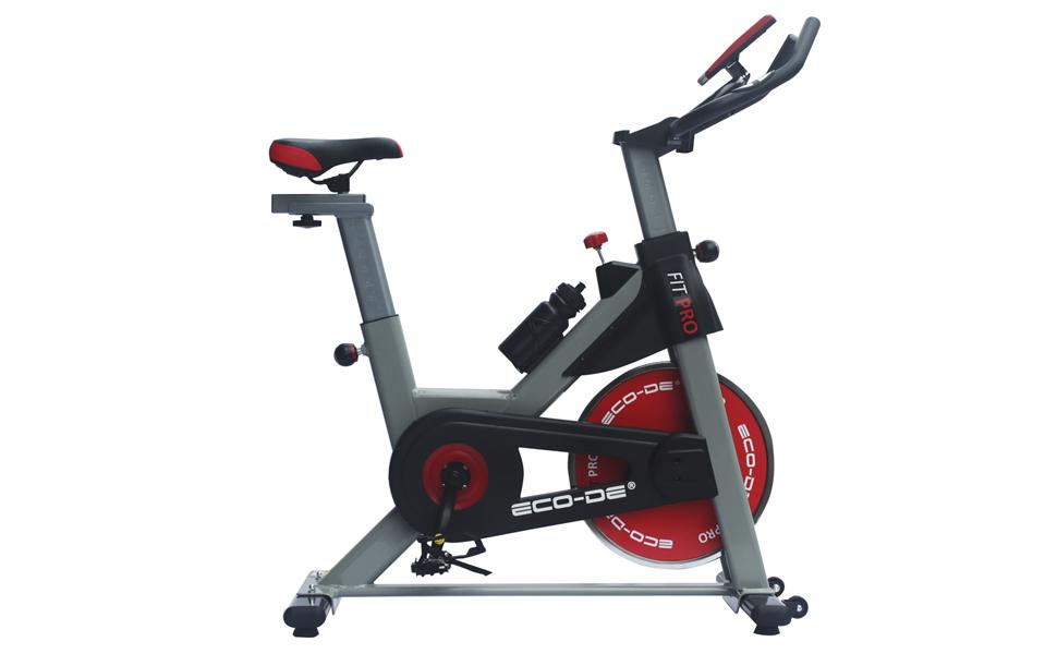 ECO-DE Bicicleta Spinning Fit Pro. Uso semiprofesional con ...
