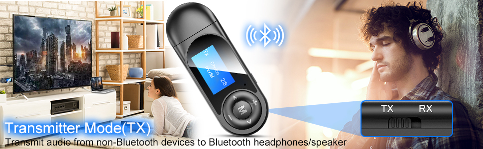 Bluetooth 5.0 Transmitter
