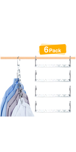 space saving hangers