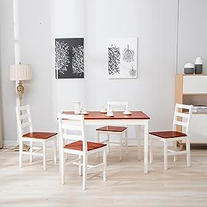 5pcs dining set