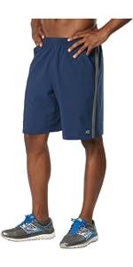 r-gear men'a long gone running workout shorts