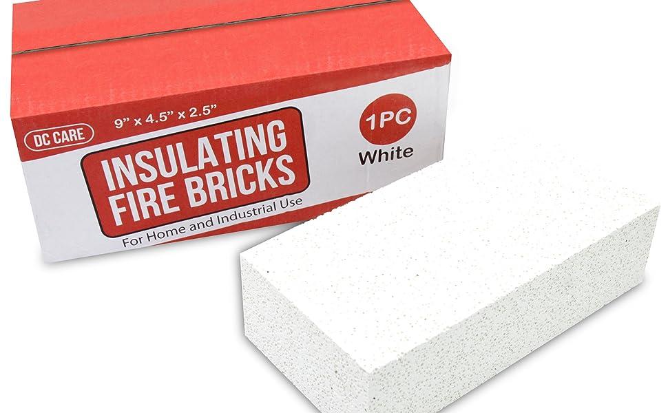 outdoor kitchen insulated bricks Details about  /Insulated Fire Bricks Pizza oven bricks