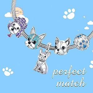 Dog Charms for Pandora Bracelet