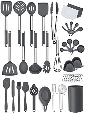 cooking spatula set for nonstick coooware