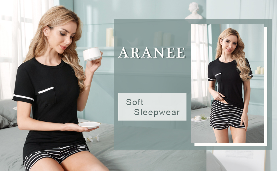 short pajamas sets