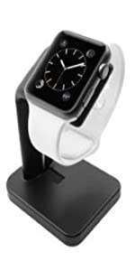 Apple Watch Stand Holder - The Perfect Nightstand iWatch Charging Dock Station Series 4 3 2 1 smart
