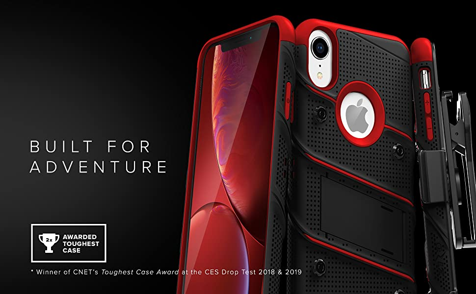 ZIZO BOLT Series iPhone XR. Built For Adventure.