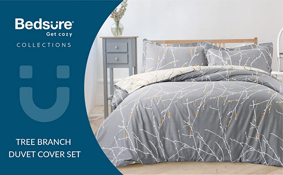 Bedsure Duvet Cover Set