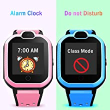 kids watch alarm clock class mode watch setting boys girls students watches for back to school gifts