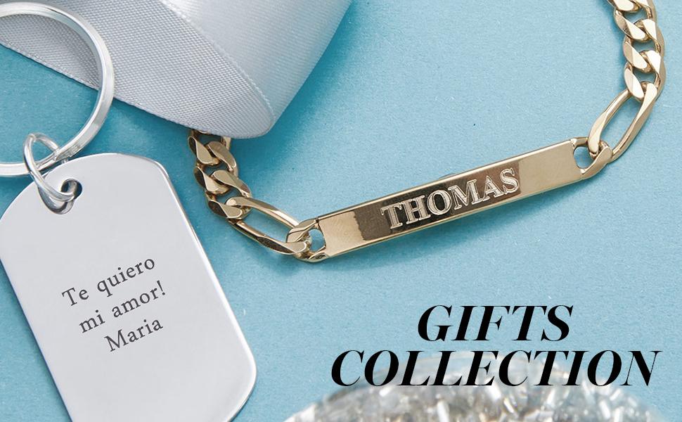 MyNameNecklace Personalised Custom Made Jewellery Engraved Him Dad Men Gift Holiday Christmas