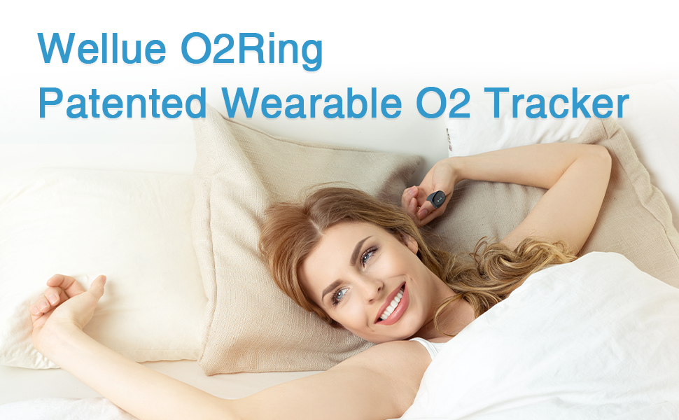 Wellue O2Ring Patented Wearable O2 Tracker