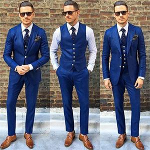 Grau Coshow Anzug Herren Anzug Slim Fit 2 Teilig Herrenanzug 2-Teilig Anz/üge Herren Modern Sakko f/ür Business Hochzeit Medium