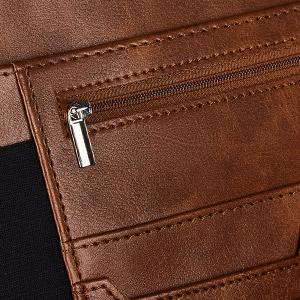zippered portfolio padfolio, zip, iPad, iPhone, padded pocket, interview document folder